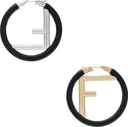 Fendi FF Hoop Earrings