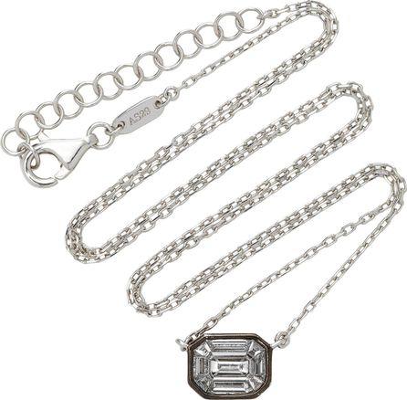 AS29 Big Illusion Diamond Chain Necklace