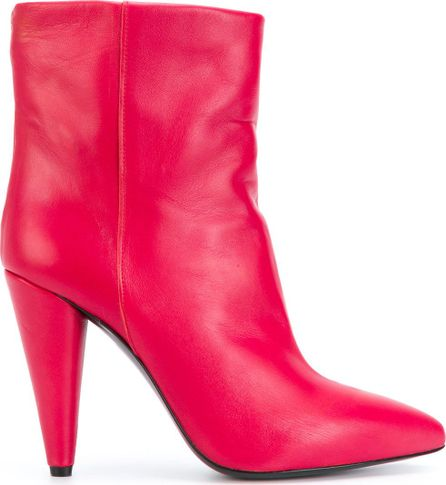 Erika Cavallini pointed ankle boots