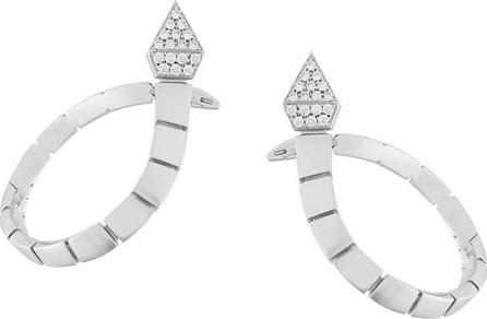 Anapsara Snake shaped drop earrings