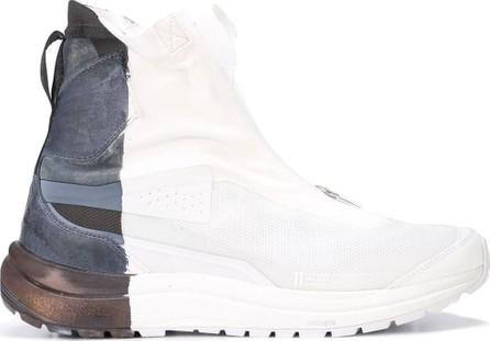 11 By Boris Bidjan Saberi Two tone hi-top sneakers