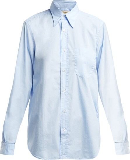 Holiday Boileau Point-collar cotton shirt