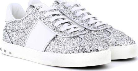 Valentino Valentino Garavani Fly Crew glitter sneakers