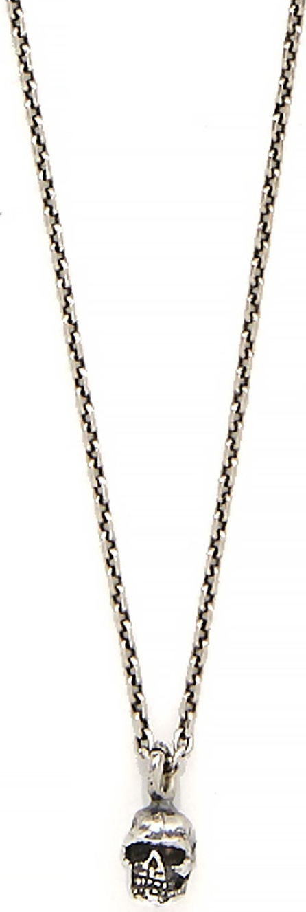 Emanuele Bicocchi Skull sterling-silver chain necklace