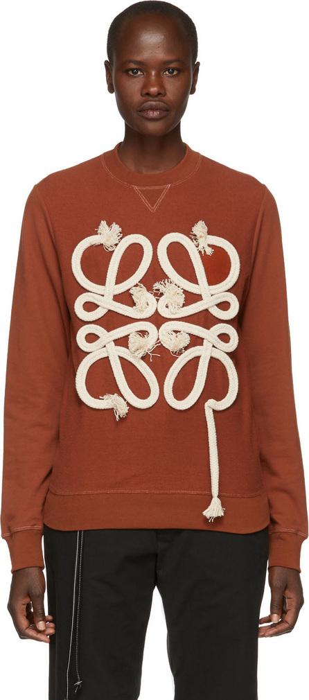 LOEWE Orange Rope Anagram Sweatshirt