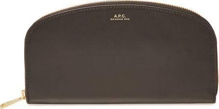 A.P.C. Demi-Lune Leather Wallet