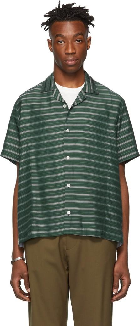 Goodfight Green Striped Krewe Shirt