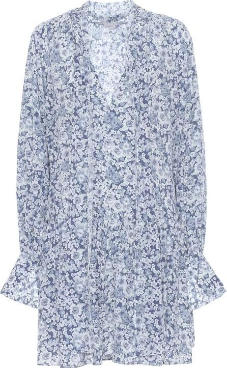Stella McCartney Floral silk crêpe minidress