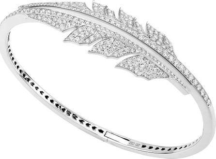 Stephen Webster Magnipheasant Diamond Bracelet in 18K White Gold