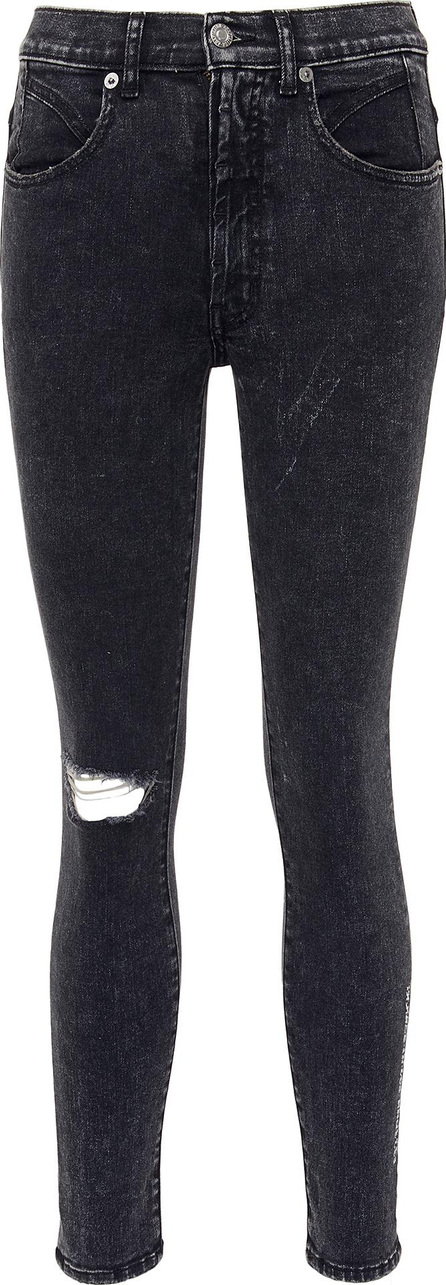 Adaptation Graphic patch skinny jeans