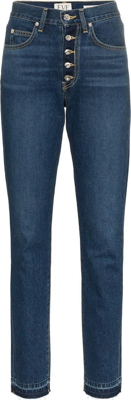 EVE DENIM Silver bullet high-waisted jeans