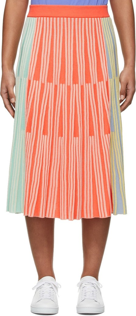 KENZO Multicolor Stripe Ribbed Skirt