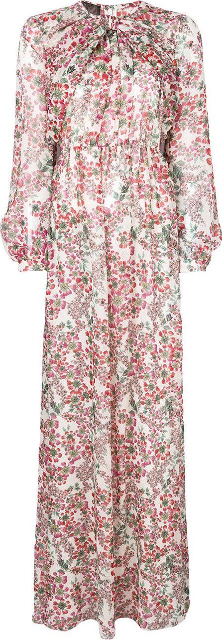 Giambattista Valli Fantasia silk georgette dress