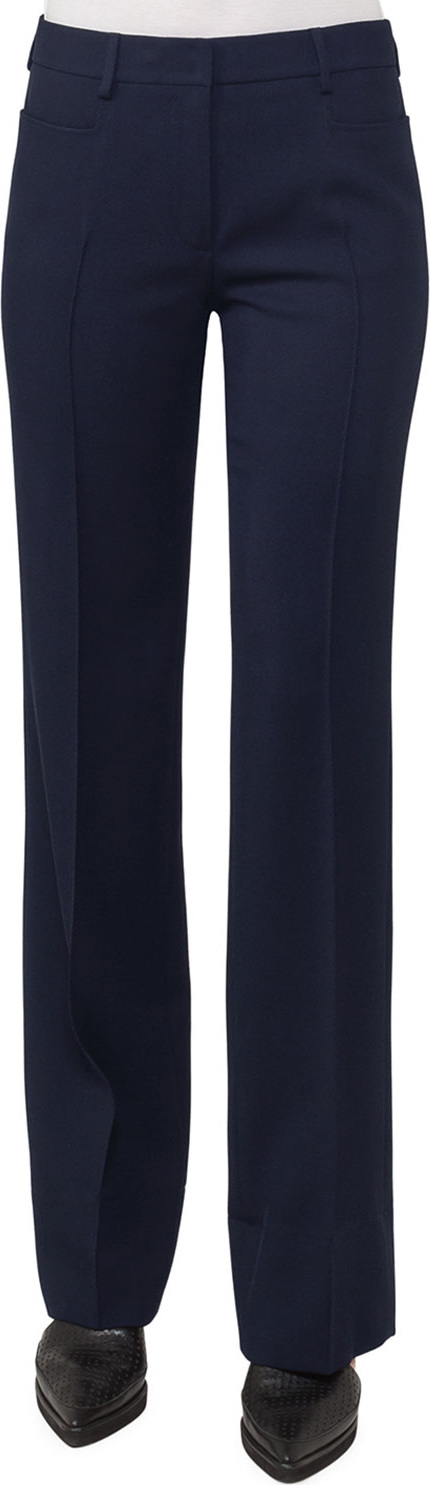 Akris Punto Marta Straight-Leg Pants