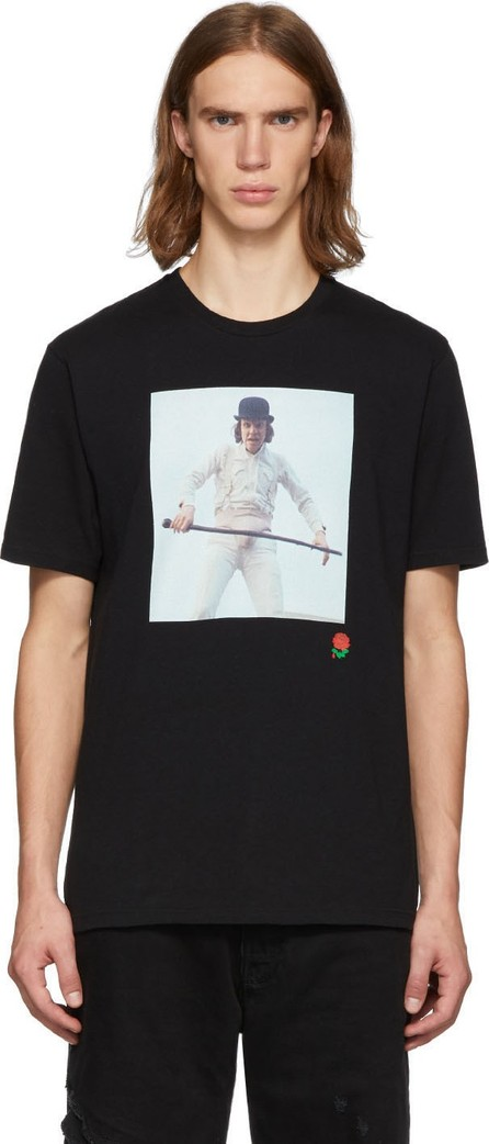 Undercover Black A Clockwork Orange Alex Rose T-Shirt