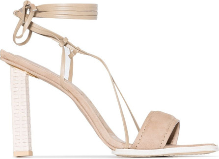 Jacquemus Square-toe sandals