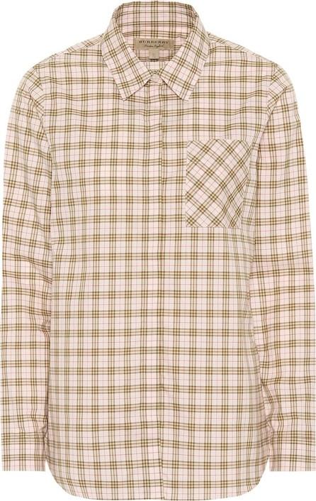 Burberry London England Checked cotton shirt