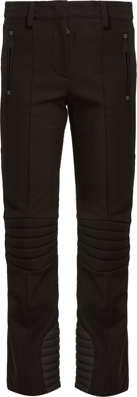 Moncler High-rise twill ski trousers