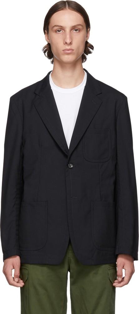 Comme des Garçons Homme Black Tropical Wool Blazer