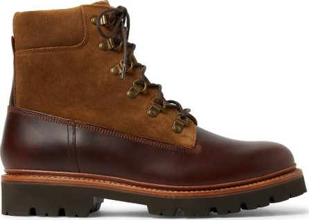 Grenson Rutherford Leather and Suede Boots