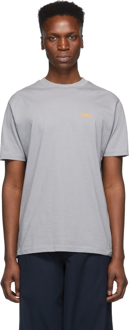 032c Grey Cosmic Workshop Logo T-Shirt