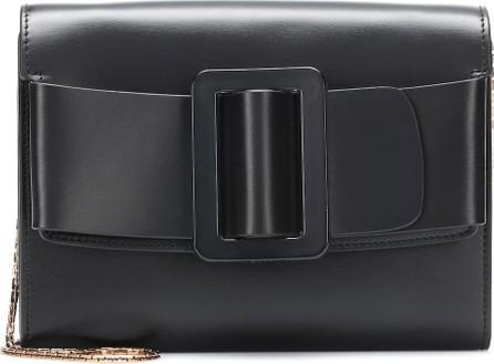 BOYY Buckle Travel leather clutch