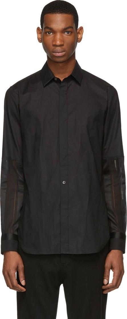 Ann Demeulemeester Black 'Cotone/Pace' Shirt