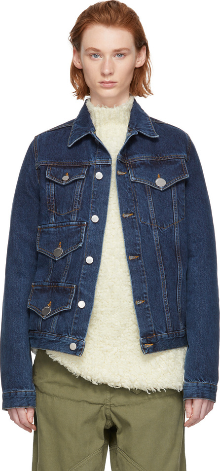 J.W.Anderson Indigo Multi Pocket Denim Jacket