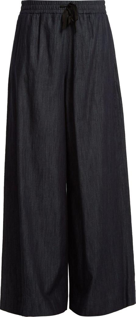 Max Mara Wide-leg cotton trousers