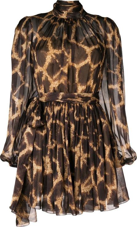 Dolce & Gabbana Leopard print flared dress