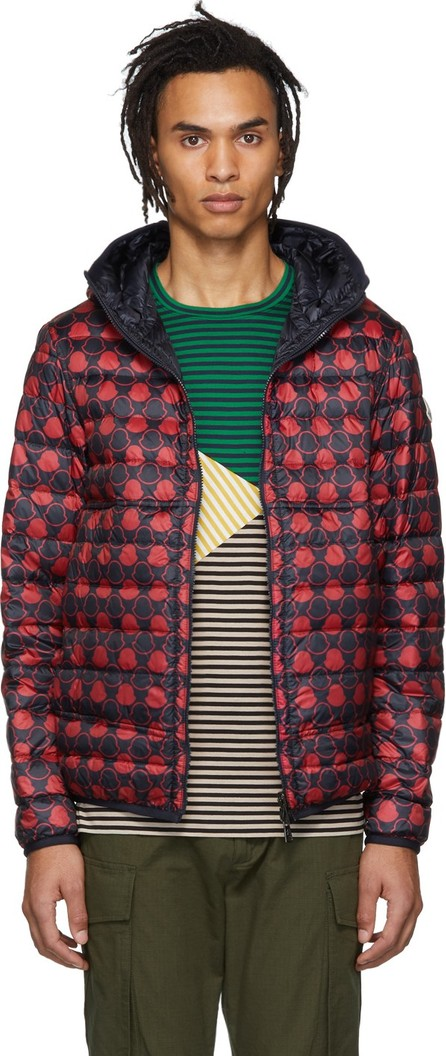Moncler Reversible Navy & Red Down Oise Jacket