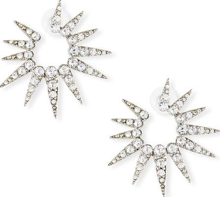Oscar De La Renta Sea Urchin Small Crystal Earrings
