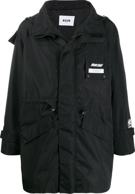 MSGM Hooded raincoat