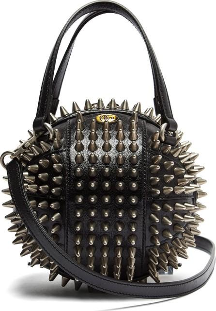Gucci Tifosa basketball studded leather shoulder bag