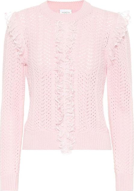 Giambattista Valli Ruffled wool sweater