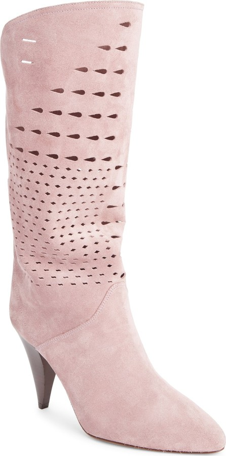 Isabel Marant Lurrey Perforated Slouch Boot