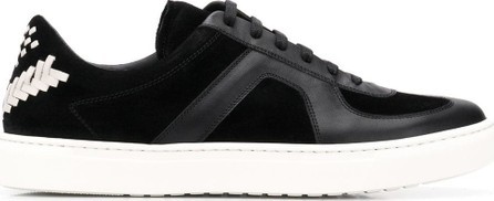 Bottega Veneta Chevron stitch sneakers