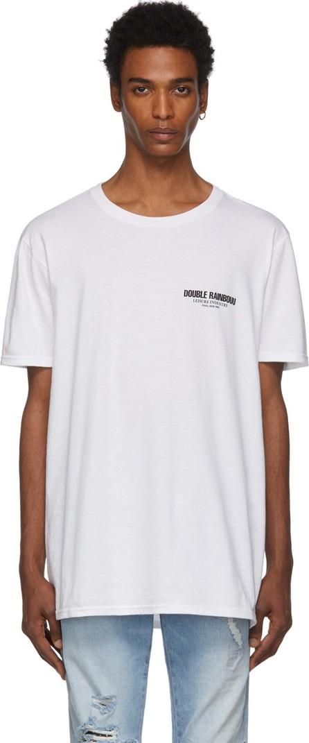 Double Rainbouu White 'Pool-Side Wifi' T-Shirt