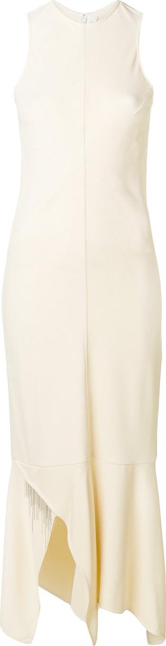 Victoria Beckham Asymmetric fitted dress
