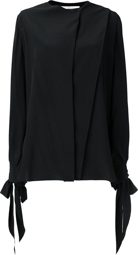 Givenchy Flared long-sleeve blouse