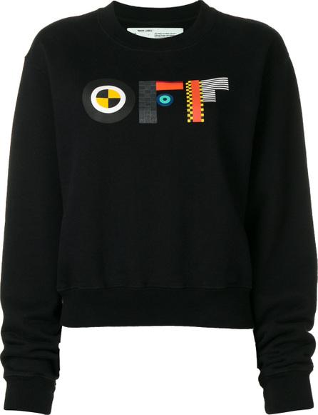 Off White Graphic logo sweatshirt
