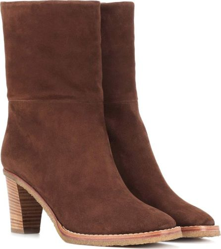 Gabriela Hearst Helen suede ankle boots
