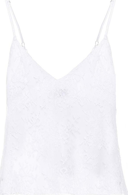Amiri Lace-trimmed camisole