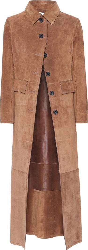 Acne Studios Marius suede coat