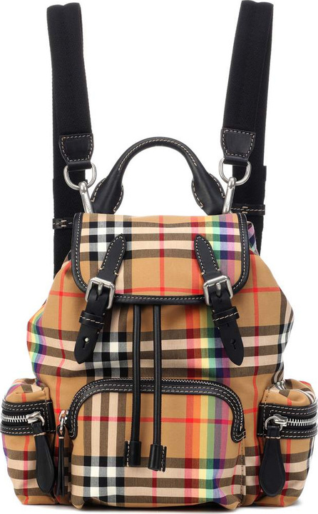 Burberry London England The Rucksack Small check backpack
