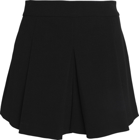 Alice + Olivia Olette pleated twill shorts