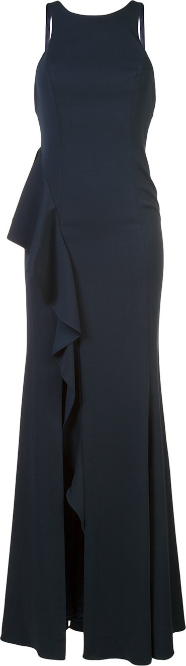 Jay Godfrey - side ruffle gown