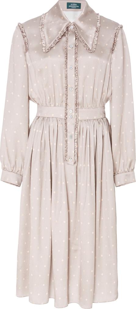 Alena Akhmadullina Polka Dot Silk Dress
