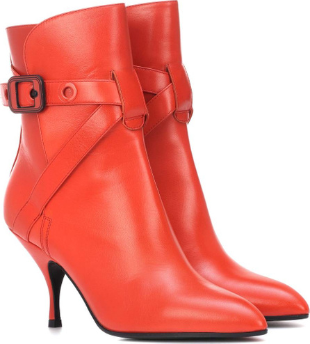 Bottega Veneta Moodec leather ankle boots