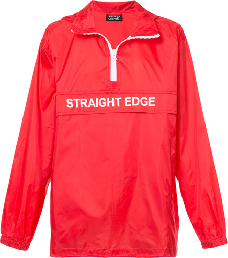 Andrea Crews Straight Edge wind breaker